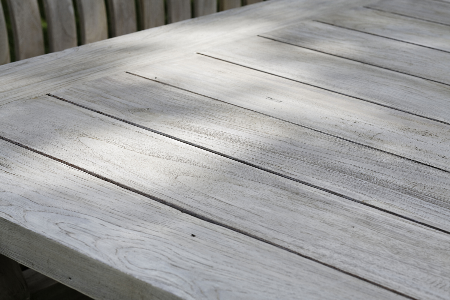 Boulogne Tisch 240 cm Recycled Teak (Seawash)