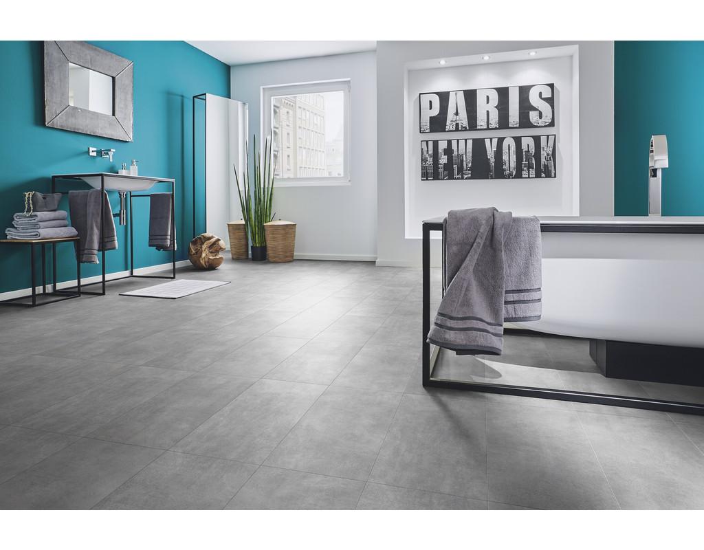 vinyl v lyn tile beton grau 1300x320x4 5mm 2 080 qm pak livingshop 24. Black Bedroom Furniture Sets. Home Design Ideas