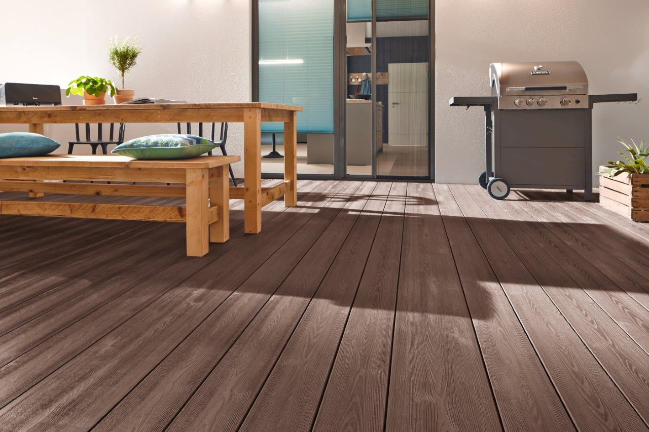 DreamDeck WPC PLUS braun 23x146x3000mm