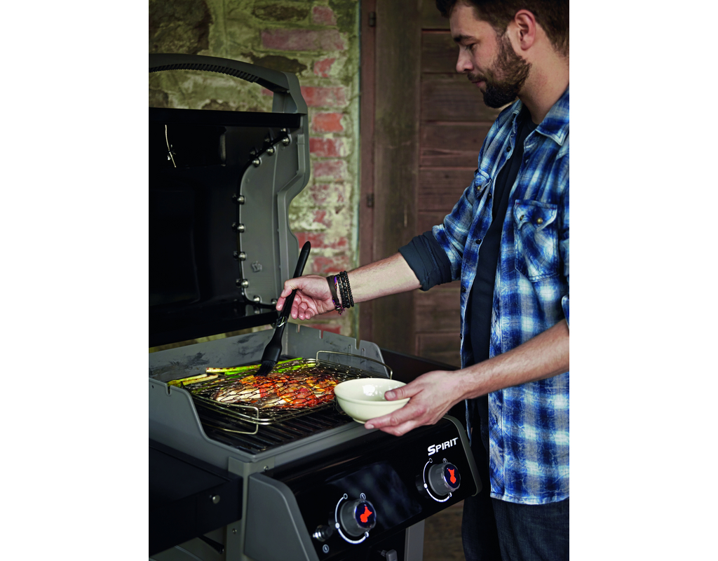 Gasgrill Spirit E-210 Original, Black 1170x755x650 mm