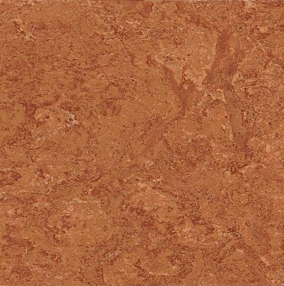 Linoplus Linoleumboden HDF (Terracotta Marmor-Optik)