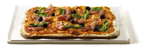 Weber Pizzastein rechteckig 44 x 30 cm mit (Backblech)
