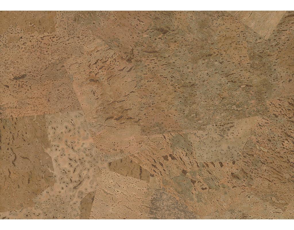 Ziro-Kork Korkboden natur KF Harmony rustico roh Kurzdiele 600x450x5mm