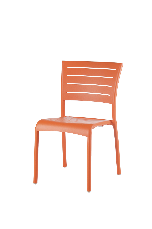 Kingston Stapelstuhl Aluminium (? neon orange)