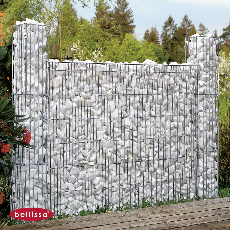 Mauergitterset H 80 cm für Steinsäulen (113x80x10 cm)