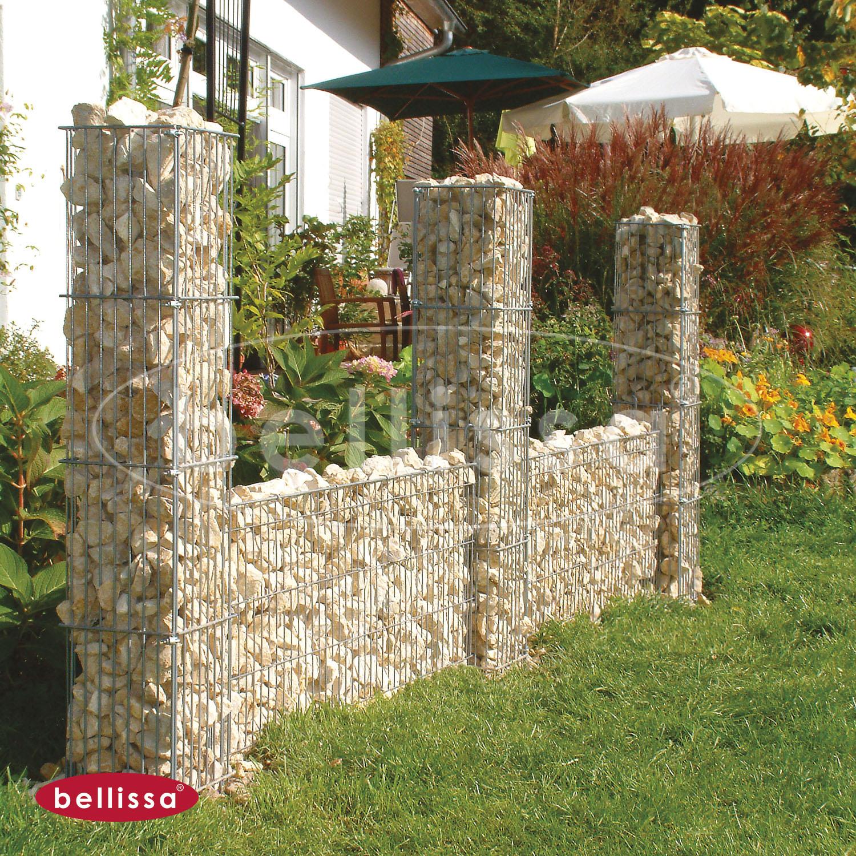 Mauergitterset H 40 cm für Steinsäulen ( 113x40x10 cm)