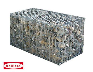 Steinkorb (Profi-Gabione) 100x50x50 cm (MW 10 x 5 (400kg))