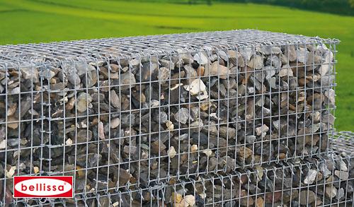 Steinkorb (Profi-Gabione) 150 x 50 x 50 (MW 10 x 5 (600 kg))