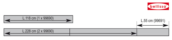 Rasenkante comfort 9 x118 cm