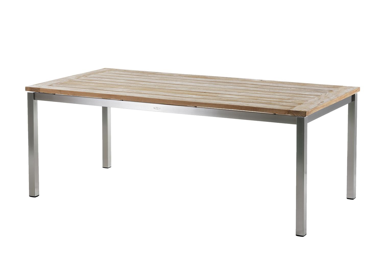 Belmont Tischplatte f. Tischgestell ( San Marino 200x100cm ? Recycled Teak ?)