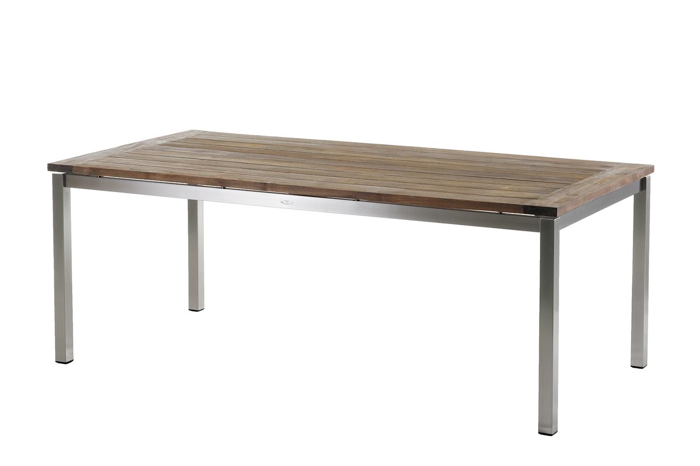 Belmont Tischplatte f. Tischgestell (San Marino 200x100cm ? Recycled Teak ? G)