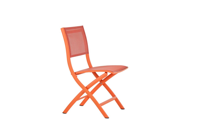 Kingston Klappstuhl Aluminium/Textiline (? neon orange)