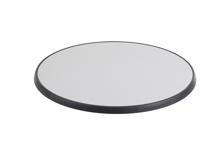 DiGalit Tischplatte 70cm rund - (Metall gebürstet)