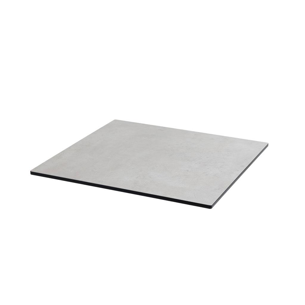 DiGa Compact (HPL) Tischplatte 68x68cm - ( Beton hell)