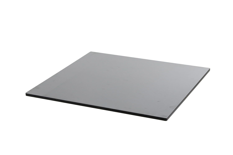 DiGa Compact (HPL) Tischplatte 68x68cm - ( Beton dunkel)