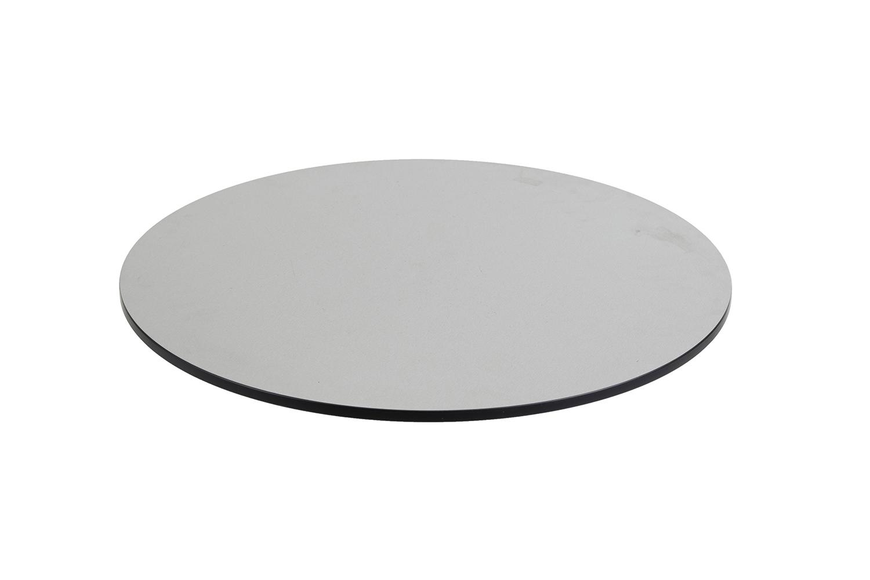 DiGa Compact (HPL) Tischplatte 68cm (rund - Beton hell)