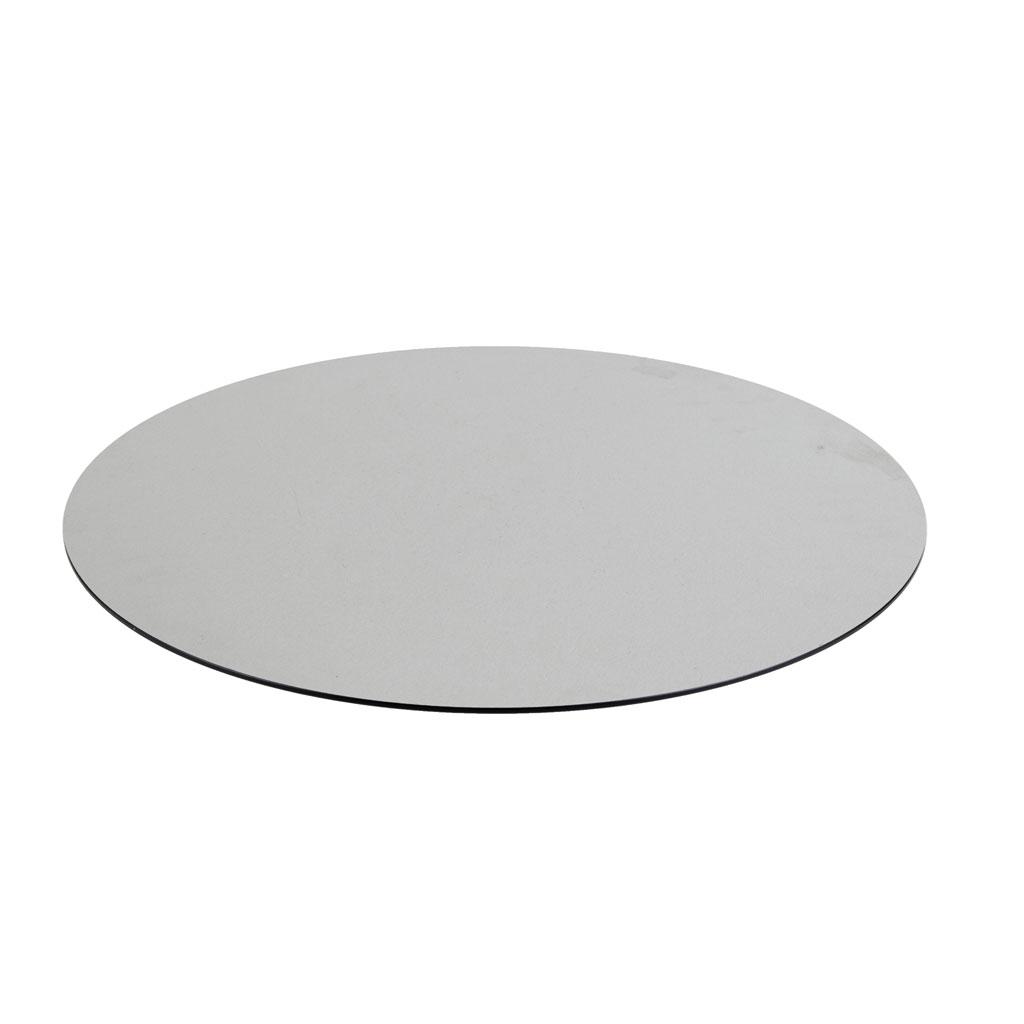 DiGa Compact (HPL) Tischplatte (mit 20° Fase 68cm rund -Beton hell)