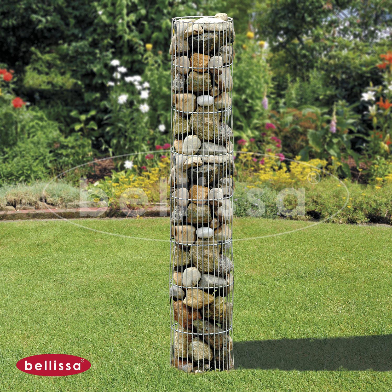 Steinsäule 2tlg. rund 25 x 180 cm