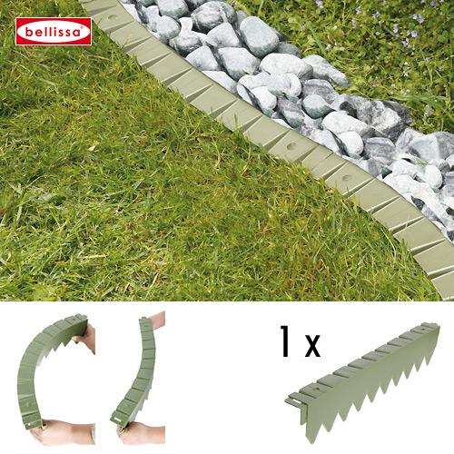 Rasenkante comfort Kunststoff 50 cm ( ohne Rand flexibel)