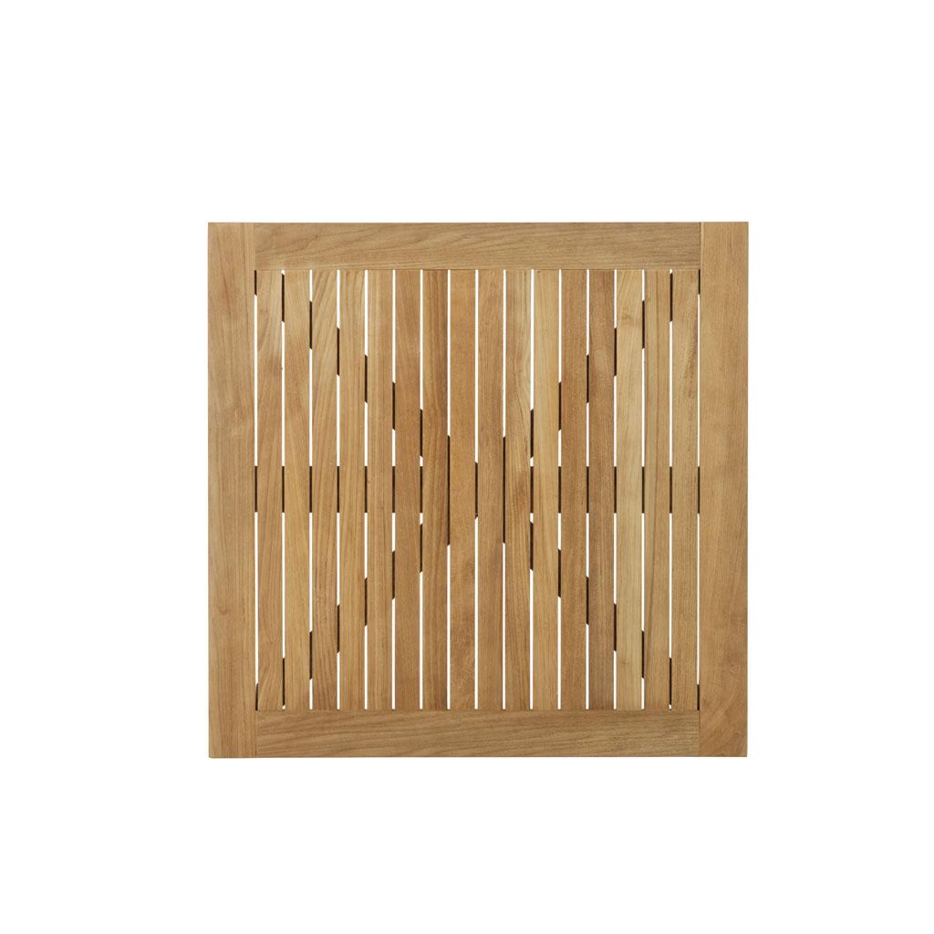 Parma Tischplatte 80x80 cm ? Teak