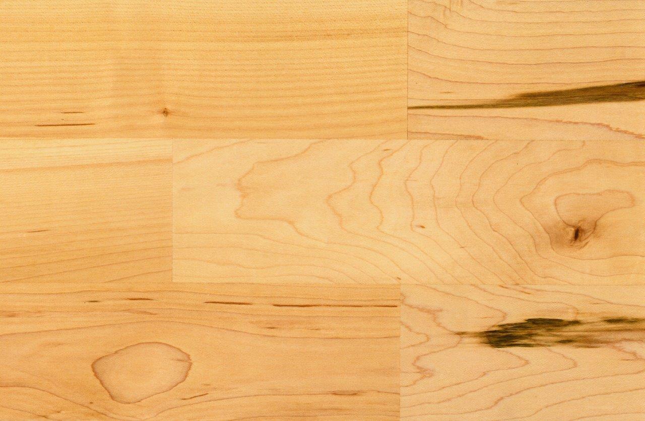 HOLZLOC Holz-Fertigparkett, 3-Stab (kanadisch. Ahorn rustikal, lackiert)