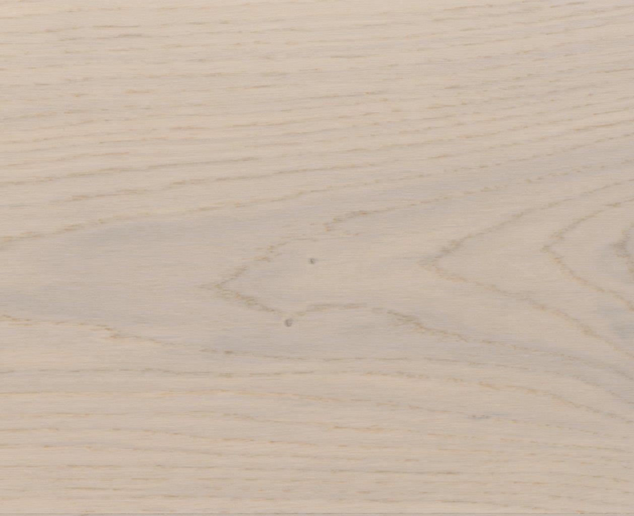 HOLZLOC Holz-Fertigparkett, 1-Stab Eiche natur, pearlwhite lackiert 2200x192x14mm
