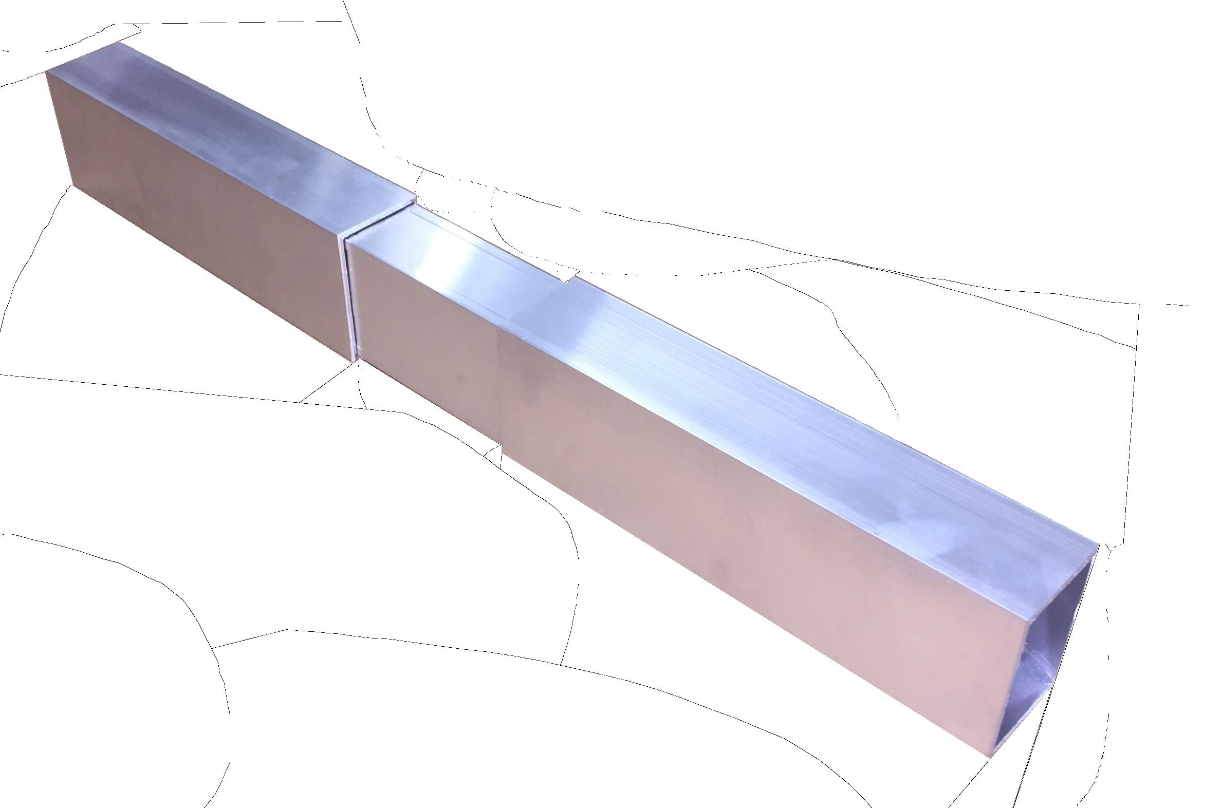 Terrassenmeister Schiene für (Unterkonstruktion)