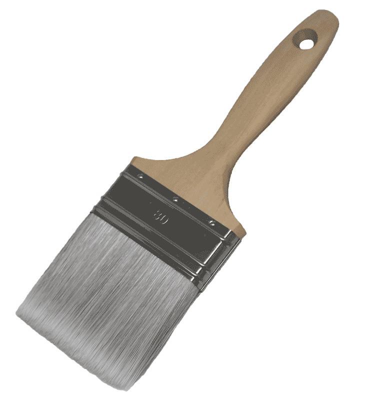 FLACHPINSEL, Silverline Mixborste Breite: 80 mm