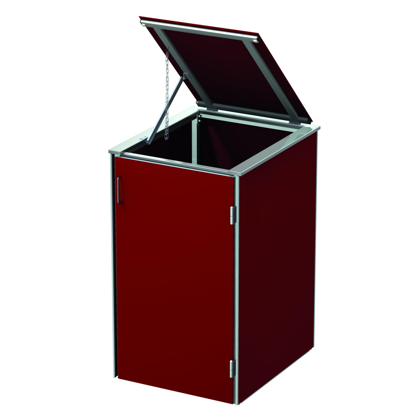 BINTO HPL rot Variante/Set 1 er Box, HPL-Deckel
