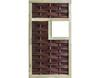 Vorschau: LABO-3D Weidengeflechtzaun 94x180 cm 1 Fenster mittig Rahmen 70x35 mm