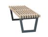 Vorschau: Siesta Lounge Tisch / Bank 138 cm Treibholz