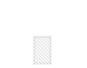 LONGLIFE Diagonalgitter weiß (60 x 90)
