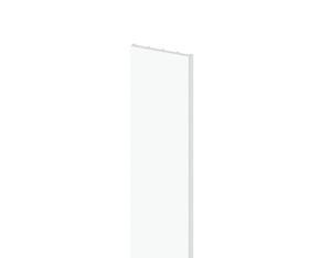 LONGLIFE Pfosten-Profil weiß 3x30x2200mm