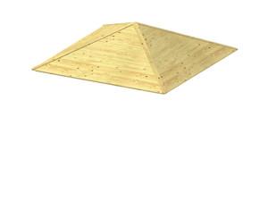 LINDGREN Holzdach für 4-eck Pavillon