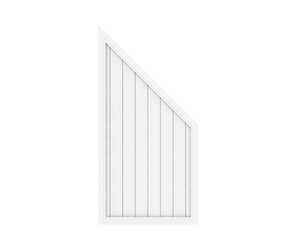 LONGLIFE RIVA Anschluss weiß (90 x 180 auf 90)