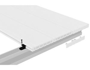 DreamDeck WPC Kunststoffclips 100er-Set nicht für UK flach+Alu