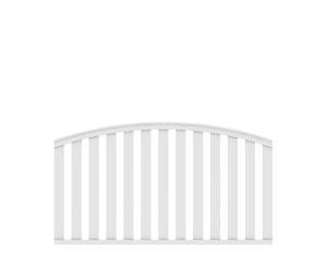 LONGLIFE CLEO weiß rund 180x85 (102)cm