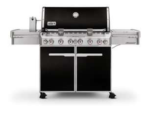 Weber Gasgrill Summit® E-670 GBS®, Black (1300x1890x680 mm)
