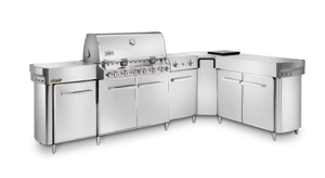 Weber Gasgrill Summit® Grill Center GBS (Edelstahl)