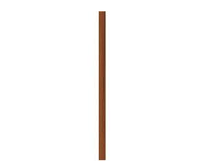 Hartholzpfosten EXKLUSIV verleimt, geölt 9x9x195cm
