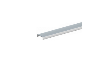 Aufsatzleiste Aluminium schmal 35-38x1800mm