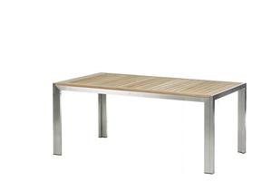 Siena Tisch 180 cm Edelstahl/Teak