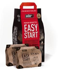 Weber Easy Start Premium Briquettes (Doppelpack)