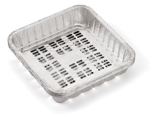 Weber Aluminium-Grillpfannen für Gemüse ((4 Stück) 41x214x214 mm)