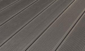 DreamDeck WPC BiColor Vollprofil (Anthrazit 21 x 125 x 4000 mm)