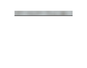 SYSTEM Dekorprofil Metall/Gamma flach Set 178x15cm