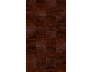 Vinylboden Vinylcomfort Raw Umber Klebefliese mit PU Versiegelung