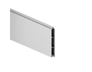 SYSTEM ALU-Einzelprofil silber 15x2,1x178cm