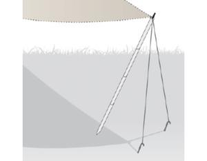Sonnensegel Befestigungsstange Basic (L=270cm, D=2cm)