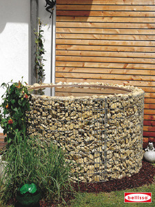 Wasserfass Ø 130/110 cm H 80 cm ( inkl. Teichfolie)
